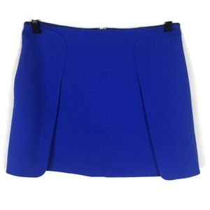 Banana Republic Blue Short Career Skirt